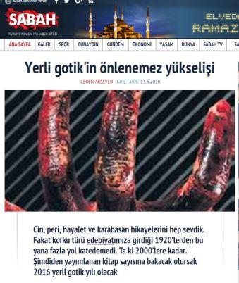 Ceren Arseven'in Altay Öktem İle Röportajı Sabah Gazetesi