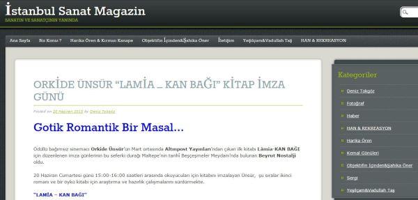 İstanbul Sanat Magazin (Deniz Tokgöz)